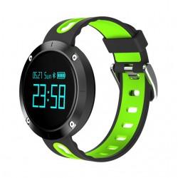Спортна смарт гривна с часовник, блу туут и функция за измерване кръвно налягане и пулс