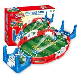Мини футболна игра, страхотно забавление за двама играча с помощта на два бутона пазите вратата и изстрелвате топката към противника