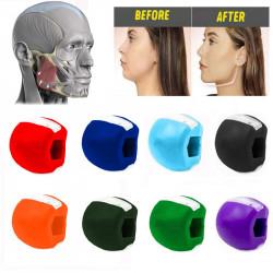 Фитнес уред за оформяне на долната част на лицето, стягане на мускулите около устата, челюстта и врата, топка за фитнес на лицето
