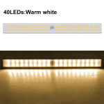 Вид: 40 диода - 30см - жълта светлина