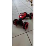 Кола трансформър с дистанционно управление и гривна за жестово управление чрез движение на ръката с колела които могат да се движат във всички посоки, rc количка която се променя на офроуд бъги или спортна кола и развива до 25 КМ/ч