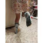 Памучни чорапи с реалистичен 3D принт на лапичка на котка или куче, копито, крак на животно, чорапи имитация на лапи на животно вълк, тигър, маймуна, зебра, куче, котка и др