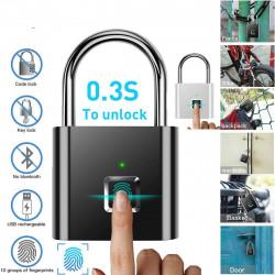 Смарт катинар с пръстов отпечатак, автоматично отключване и заключване без ключове само с едно докосване на вашият пръст