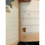 Комплект от 80 бр. симпатични мини стикери лепенки с прозрачен гръб с зайче, пиле, мече, котенце и др. мини лепенките са подходящи за украса и декорация на тетрадки, дневници, телефони и др
