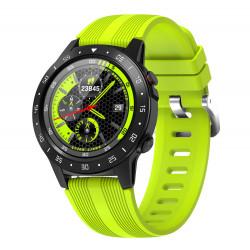 Спортен GPS смарт часовник с функция за измерване на пулса, компас, блу тут, сим карта за разговори, измерване на атмосверно налягане и надморска височина съвместим с Android и iOS