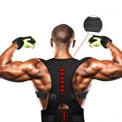 Ортопедичен коректор на стойката корсет за мъже и жени за изправяне на гърба и правилна поза с магнитчета срещу болка в гърба