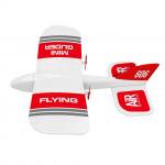 Мини самолет от пяна с жироскоп и дистанционно управление, много лек 11грама лесно управление и гарантирано забавление
