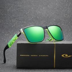 Слънчеви очила с поляризирани цветни огледални стъкла, страхотен спортен дизайн за ежедневието