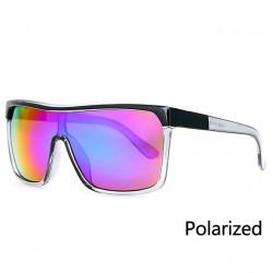 Унисекс слънчеви очила с поляризация 400UV голяма рамка и страхотен спортен вид в 4 различни нюанса