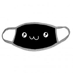 Двуслойна маска за лице за многкратна употреба със сладко емоджи