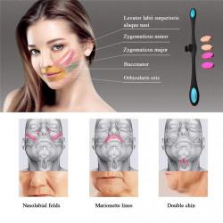 Устройство за фейс лифтинг, стягане и скулптуриране на мускулите на лицето.