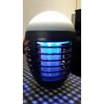 Компактна безжична електрическа лампа против комари, насекоми и мухи, с вградена батерия, водоустойчива и напълно безшумна
