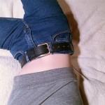 Винтидж дамски дънки подходящи за ежедневието стриит мода стил женски деним джинси с висока талия