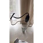 Портативна лед лампа със зарядна батерия и огъваема стойка, с щипка за маса, таблет,   лаптоп, компютър, книга