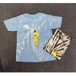 ASTRO WORLD тениска от турнето на TRAVIS SCOTT 2019 тай дай тениска tie die, 100% памук, премиум качество, избор от 13 вида