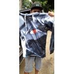 Унисекс блуза с качулка NARUTO суичър анорак с цветен принт с героите от филма Наруто и 17 различни вида