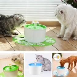 Автоматичен воден фонтан поилка за прясна вода за котки и кучета, фонтанче за вода с филтър.