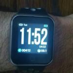 Многофункционален водоустойчив до 30м смарт часовник с цветен дисплей - измерване пулс, кръвно налягане, крачкомер, фитнес тракер, настроение тракер, сън тракер и други