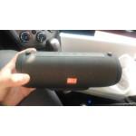 Преносима безжична Блутут стерео тонколона комбинирана с FM радио и музикален плейър - мощност 10W, съвместима с всички Блутут устройства