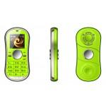 Въртящ се мини мобилен телефон фиджет спинер GSM с цветен дисплей и поддръжка на две SIM карти, 2G