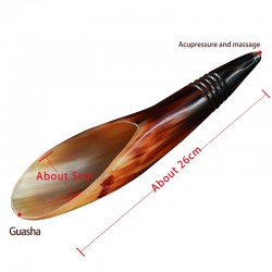 Естествен рог от Як за лечебен Гуаша масаж на тялото и релаксация