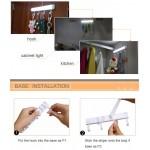 закачалка за малки дрехи с LED лампа със сензор за движение и вградена зареждаща батерия