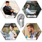 Мини безжични блутут 5.0 стерео хендсфри слушалки-тапи с микрофон за всички модели телефони с блутут