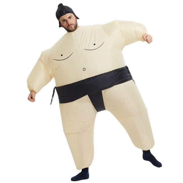 Надуваем костюм на сумо боец,за деца и възрастни,подходящ за партита с костюми и карнавали