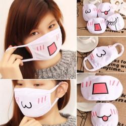 Дамска памучна зимна маска за уста против прах.