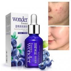 Серум против бръчки и стареене на кожата с екстракт от боровинки, избелва, овлажнява и подхранва