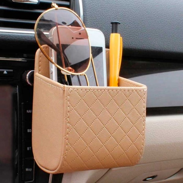 Универсална кожена чантичка за кола