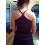 Памучен дамски потник с тънки презрамки в 7 цвята