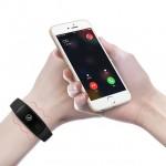 Многофункционална смарт гривна и часовник с функции за измерване на пулс и крачкомер