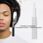 Безжичен блутут приемник с аудио жак за кола за музика в колата или хендсфрии разговори