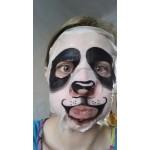 Маска за лице с тройно овлажняващо действие с принт на панда или тигър