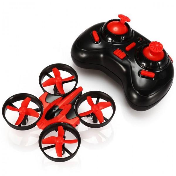 Мини дрон куад-коптер хеликоптер с дистанционно управление