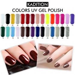 29 различни цвята UV гел лак, дълготраен цвят, използва се само с UV лампа